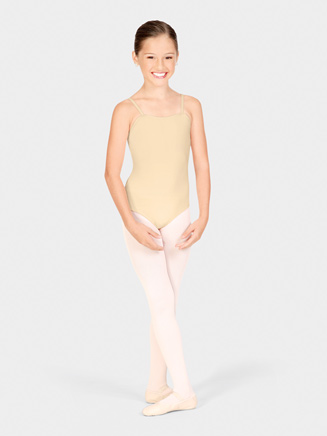 Girls Classic Square Neck Camisole Dance Leotard - Style No TB49C