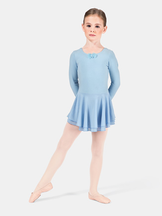 Child Long Sleeve Dance Dress - Style No TH5515C