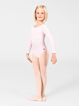 Girls Long Sleeve Dance Leotard - Style No U6055CL