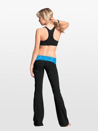Urban Dancewear Adult and Child Bling Dance Yoga Pant