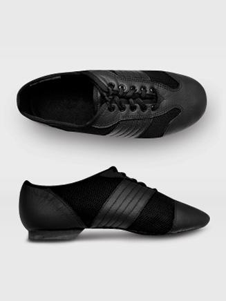 Sansha San Luis Adult Leather/Mesh Jazz Shoe
