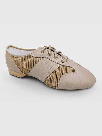 Sansha San Juan Adult Leather/Mesh Jazz Shoe