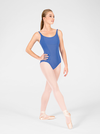 """Diva"" Adult Scoop Neck Camisole Leotard - Style No WM100"