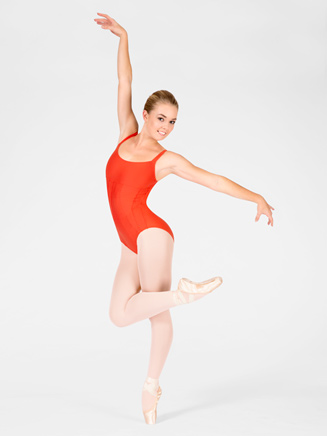 "Adult ""Bacara"" Contour Seam Leotard - Style No WM113"