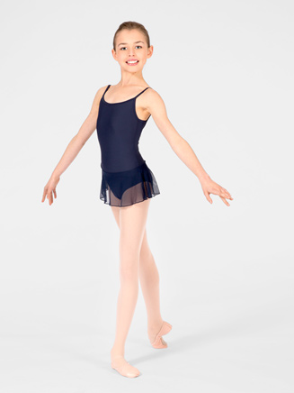 """Sissi"" Child V-Back Camisole Dance Dress - Style No WM117C"