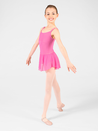 Wear Moi Daphne Child Sheer Tulle Pull-On Skirt