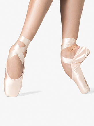 "Adult ""LaPointe"" Square Box Pointe Shoe - Style No WM129S"