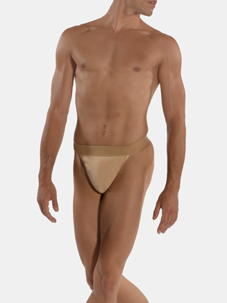 Mens Dance Belt with Thong Back - Style No WM131