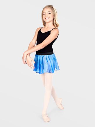 Watercolours Child Tie-Dye Dance Skirt