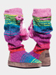 "Adult ""Angie"" Rainbow Knit Boot - Style No 17094"