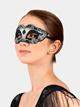 Glitter Mardi Gras Mask - Style No 25459