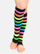 Neon Rainbow Legwarmers - Style No 3931