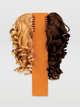 Synthetic Curly Hair - Style No 4125A