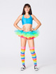 Adult Neon Rainbow Tutu - Style No A1706