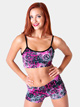 Adult Peace Printed Dance Short - Style No FD0220