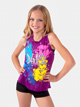 Girls Berry Glitter Dance Tank - Style No K5140