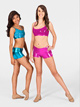 Metallic Dance Short - S