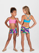 Child Foil Print Dance Short - Style No N8646C