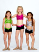 Child Dance Short With Printed Waist - Style No NF8361C