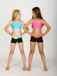 Child Two-Tone V-Front Short - Style No NF8449C