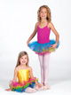 Child Rainbow Tutu Skirt -
