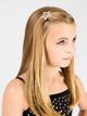 Rhinestone Star Hair Barrette - Style No RBSC