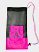 Pointe Shoe Mesh Bag with Pocket - Style No RPSINGLE