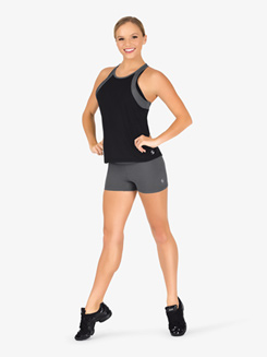 Womens Rolldown Athletic Shorts