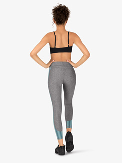 Womens Workout Ankle-Length Compression Leggings