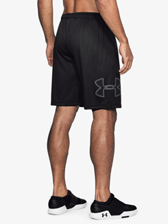 Mens Tech Graphic Workout Shorts