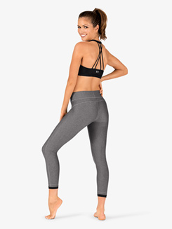 Womens HeatGear Ankle Crop Workout Leggings