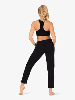 Womens Fleece Athletic Sweat Pants