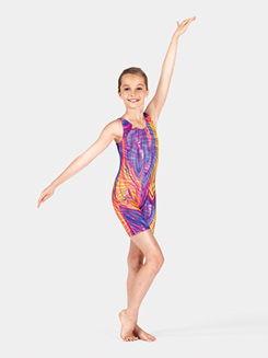 Girls Gymnastics Tank Biketard