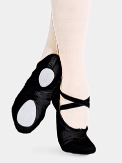 Cobra Adult Split-Sole Canvas Ballet Slipper