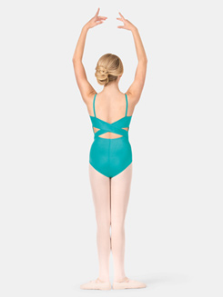 Child Camisole Crisscross Back Leotard