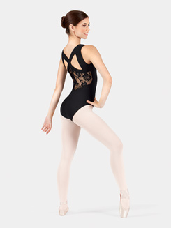 Adult Tank Lace Back Leotard