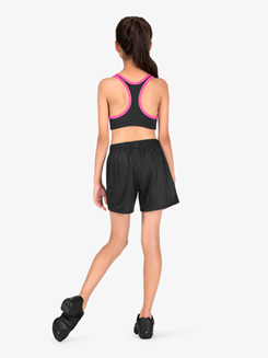 Girls Mesh Athletic Shorts