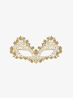 Beauroque Open Eyes Stick-On Face Lace