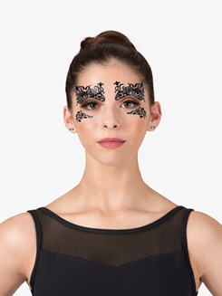 Fleurty Stick-On Face Lace
