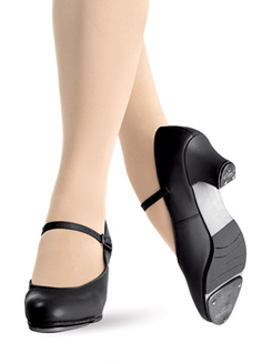 Leather Adult Jr. Footlight 1.5 Heel Tap Shoe