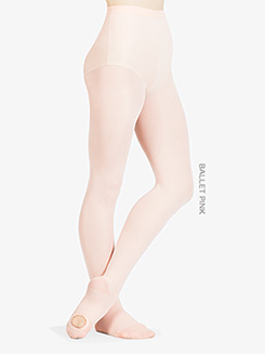 Adult Ultrasoft Microfiber Convertible Tight