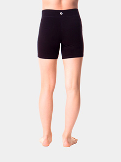 Teen Cotton High Waist Dance Shorts