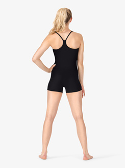 Adult Y-Back Camisole Shorty Unitard