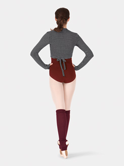 Adult Thermal Knit Wrap Sweater