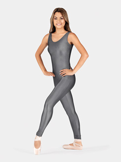 Adult Nylon Scoop Neck Tank Unitard