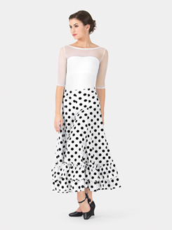 Adult Polka Dot Flamenco Skirt