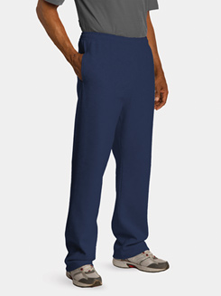 Open Bottom Sweatpant With Pockets