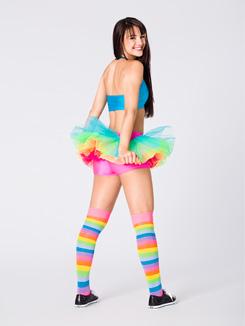 Adult Neon Rainbow Tutu