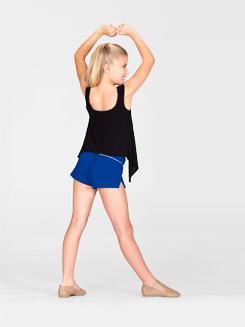 Child Elastic Waist Dance Short