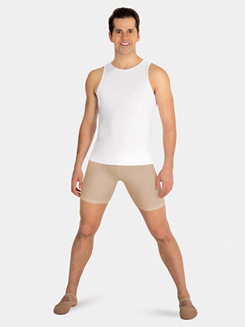 Boys Mid-Thigh Dance Shorts